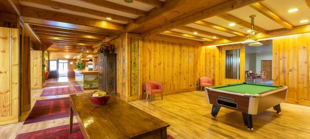 Salle de jeux de l'hôtel Rutllan & Spa